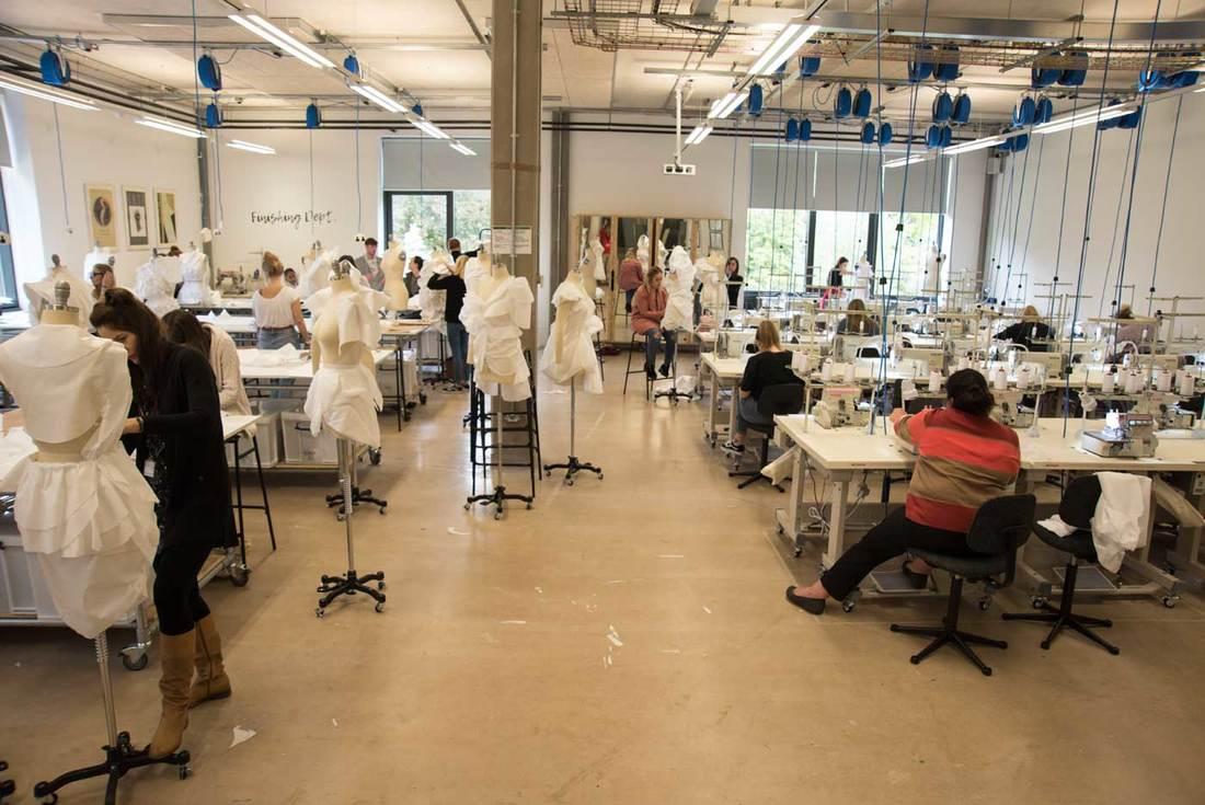 The Fashion Design Studio At Cardiff School Of Art
